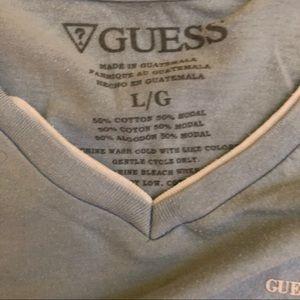 Guess t-shirt , soft pretty blue.